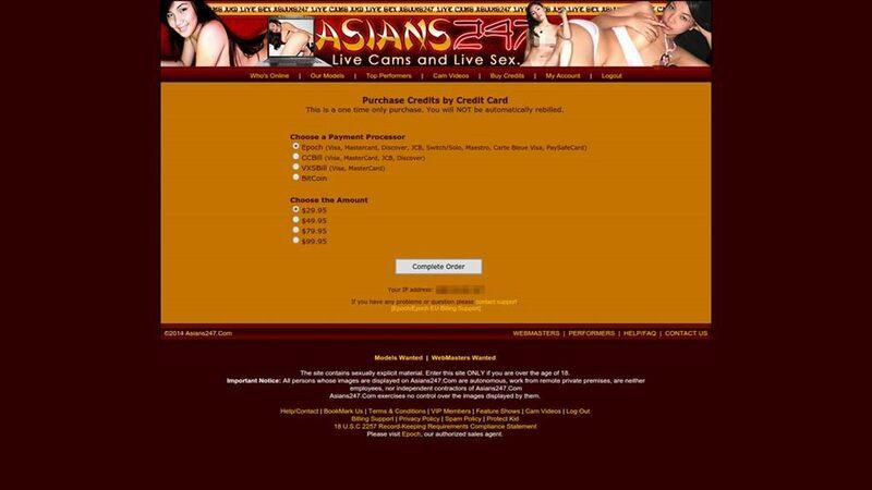 Payment plans at Asians247.com