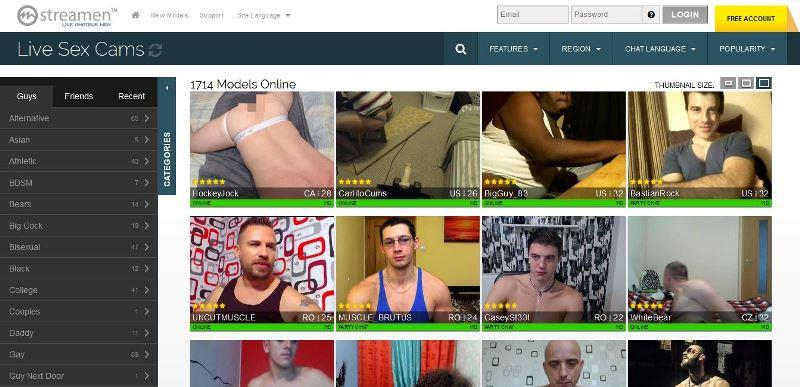 Streamen Gay Cams