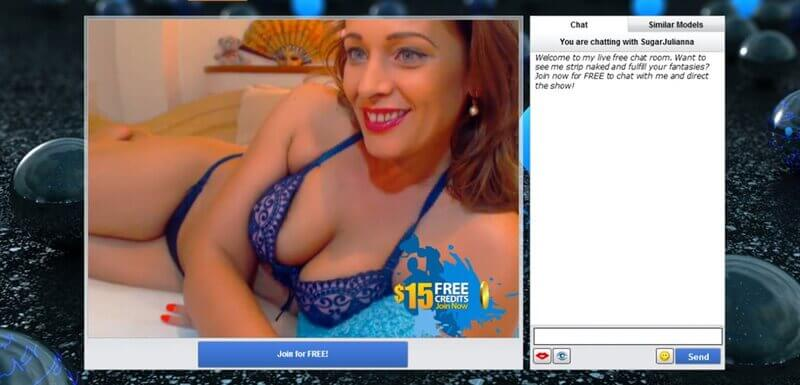 Redhead MILF on nude chat rooms