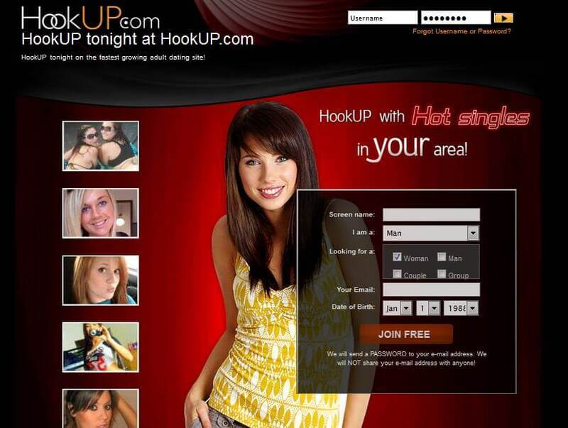 Register to Hookup adult dating service