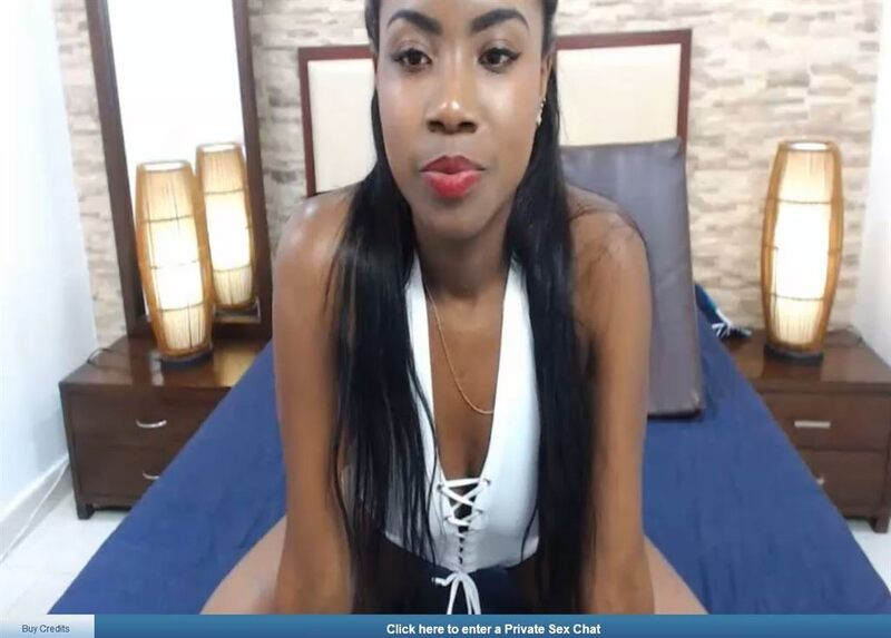 African beauty with pouting red lips on ImLive.com