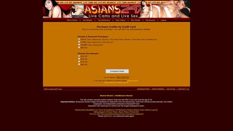 Payment plans at Asians247.com