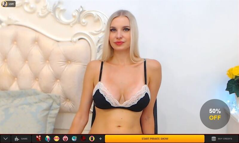 Blonde Babe Waiting for Action at Livejasmin.com