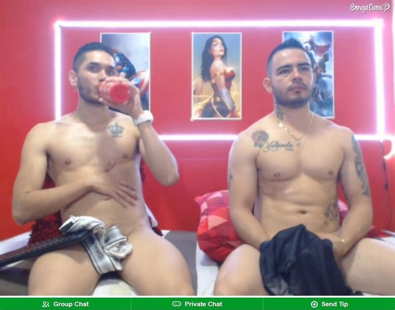 BongaCams offers nice gay live shows with hunky male models