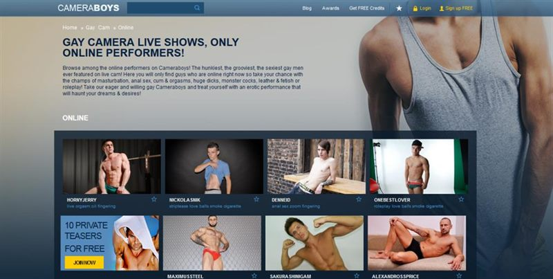 Handsome webcam men online