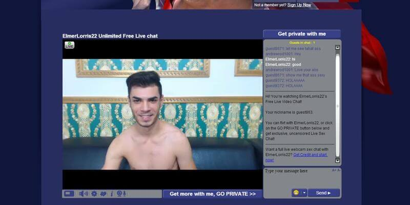 This webcam model is sooo cute