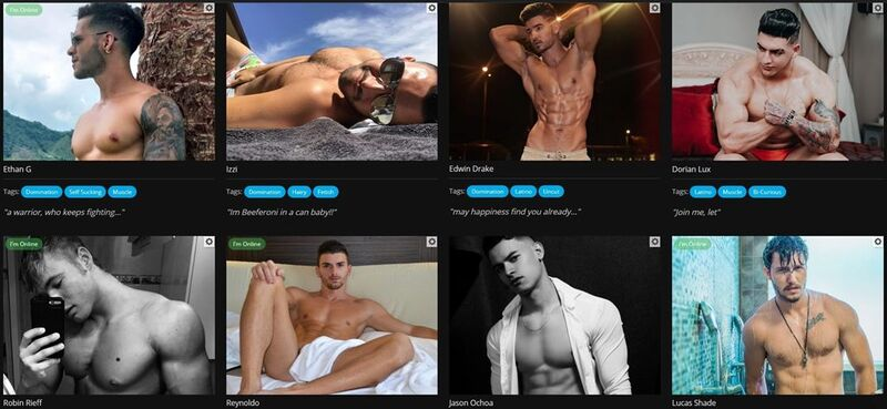 Hot hunks at Flirt4Free looking for some fun and games