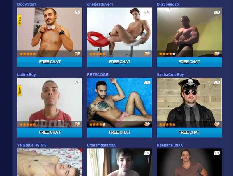 Attentive guys on XXXcam