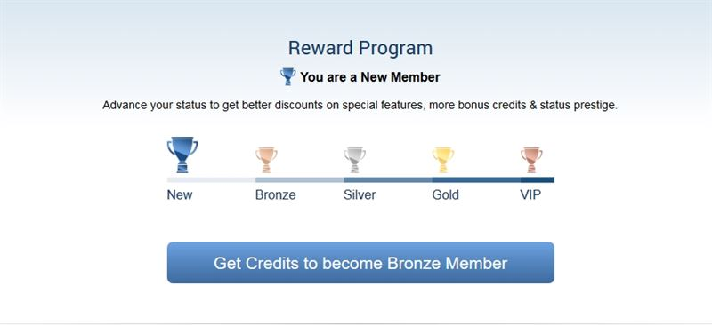 Membership levels at ImLive.com