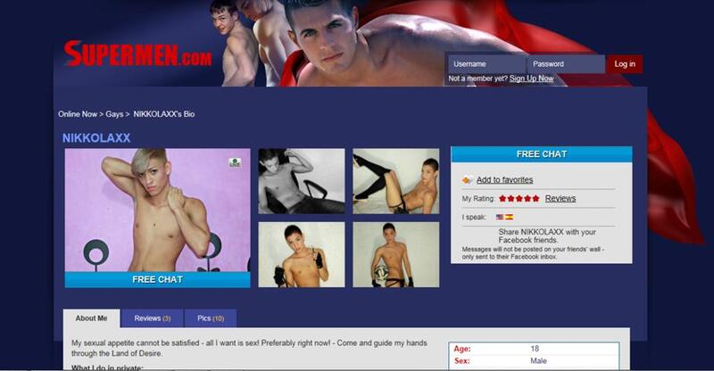 A slick hunk on live adult webcams