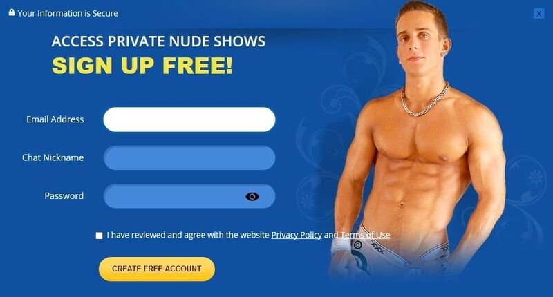 Sign-up process is easy and simple at Flirt4Free.com