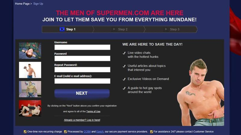 Register to Supermen.com