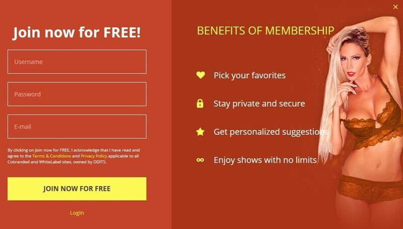 Sign-up for free at MaturesCam.com
