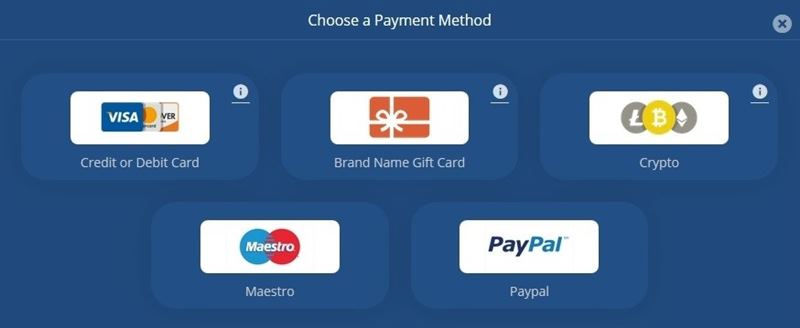 Flirt4Free takes almost all payment methods